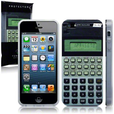 Old School Calculator Apple iPhone 5 Case