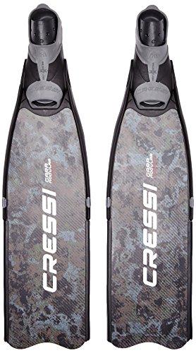Cressi Men's Gara Modular Carbon Camouflage lange Klinge mit Tauchsport Schwimmflossen Mehrfarbig mehrfarbig Size 44/45