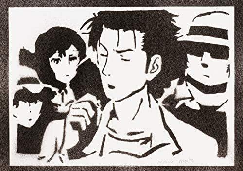 Poster Steins;Gate Rintarou Okabe Handmade Graffiti Street Art - Artwork