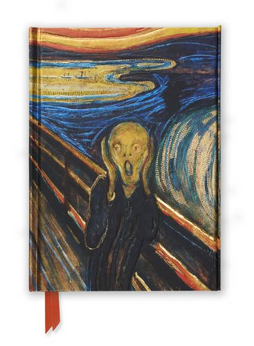 Edvard Munch, the Scream (Foiled Journal) (Flame Tree Notebooks)