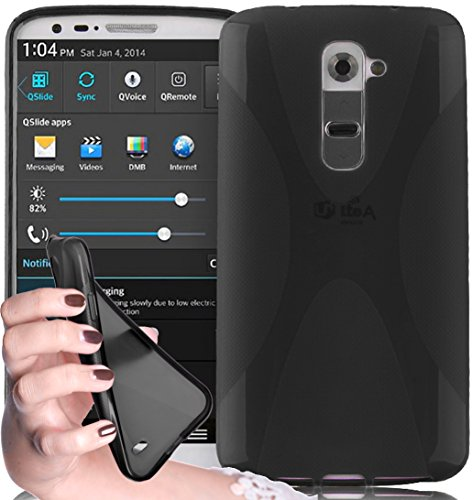 cadorabo-silicone-case-x-style-slim-flex-for-lg-g2-etui-cover-protection-bumper-skin-in-oxide-black
