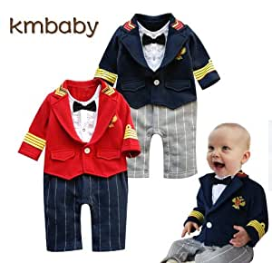 Baby boys party outfit 6-24 mnths MILTARY ROMPER suit ...