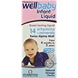 Vitabiotics WellKid Baby and Infant Liquid from 4 Months to 5 Years, 150ml