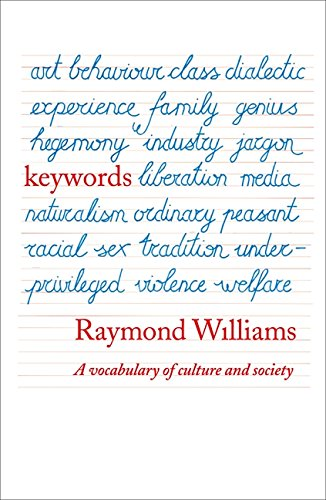 Keywords por Raymond Williams