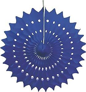 Tim & Puce 50255 - Ventilador eléctrico, 53 cm, Color Azul
