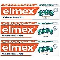 Elmex dentifrice junior, 3-pack (3 x 75 ml)