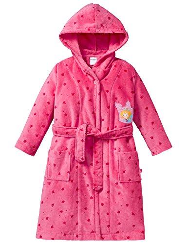 Schiesser Mädchen Bademantel Prinzessin Lillifee, Rot (Pink 504), 140