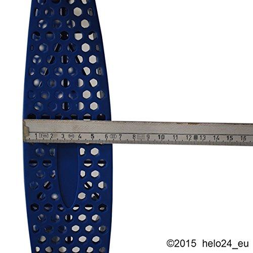 Einstiegsleiter für 430 cm Trampolin in blau - 4