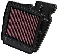 K&N YA-1611 High Performance Replacement Air Filter for Yamaha FZ16