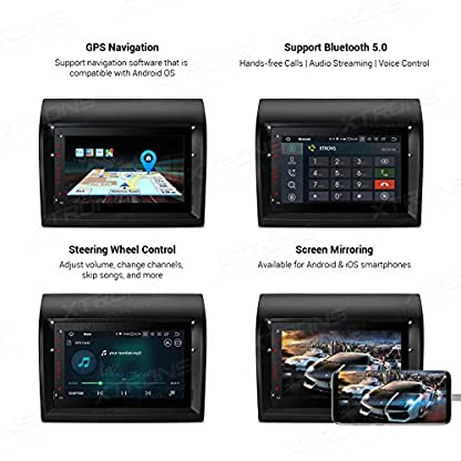 XTRONS-7-Android-90-Quad-Core-Autoradio-2GB-RAM-16GB-ROM-mit-Touch-Screen-Multimedia-Player-Autostereo-untersttzt-4G-WiFi-Bluetooth-Musik-Streaming-DAB-OBD2-TPMS-FR-FIAT-Ducato-2011-2015