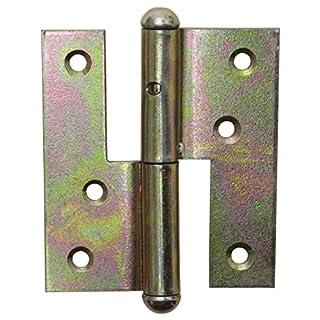 Schössmetall Tür Aufschraubband links 120 mm Stahl verzinkt | 23012796