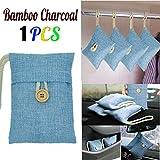Bamboo Charcoal Bag ----TAOtTAO 1 stücke Tasche Auto Bambuskohle Aktivkohle Lufterfrischer Geruch Deodorant Neu (F)