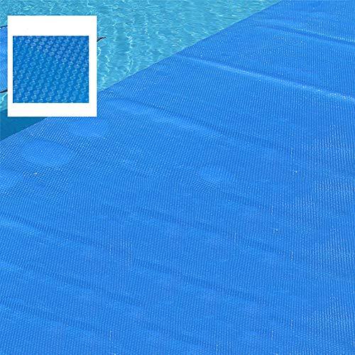 Lonas Solar-Abdeckung für Pools, Halterung für die Solar-Abdeckung des Pools, Pools, Pool-Abdeckplane für Pool auf dem Boden und auf dem Boden, Blau, dick 6x9m
