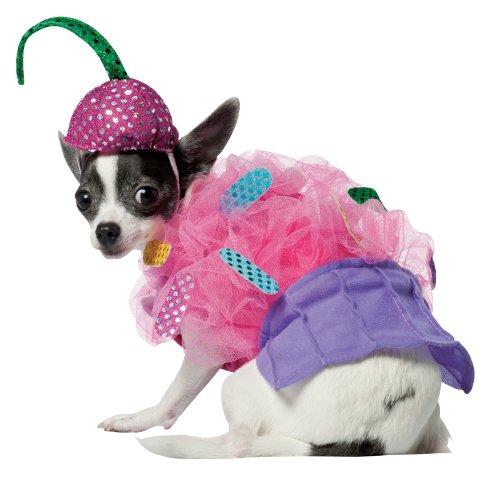 Rasta Imposta Kostüm Cup Cake Hund, klein