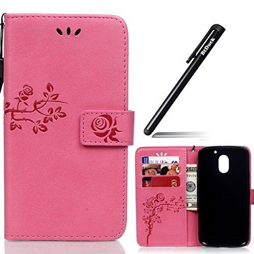 wallet-case-for-motorola-moto-e3-leather-embossed-roseflip-cover-for-motorola-moto-e3-rose-totembtdu