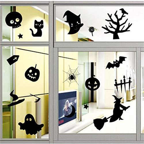 Wandaufkleber Halloween Home Decor Wohnzimmer Fenster Aufkleber Für ()