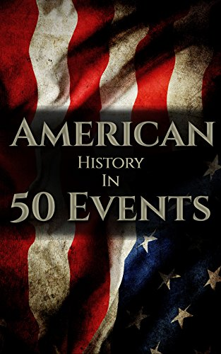 American History in 50 Events: (Battle of Yorktown, Spanish American War, Roaring Twenties, Railroad History, George Washington, Gilded Age) (History by Country Timeline Book 1) Descargar PDF Gratis