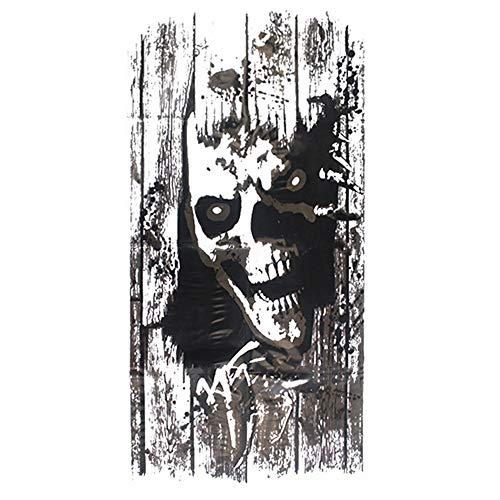 QTXINGMU Halloween Wall Sticker Ghost Abnehmbare Horror Wandbild Sticker Fenster Aufkleber Wand Dekor Für Home Room Party ()