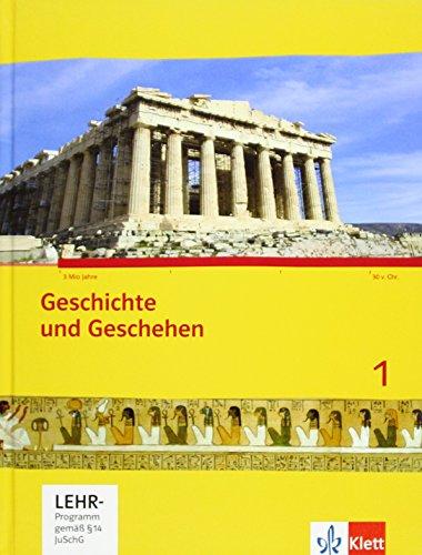 Geschichte und Geschehen 1. Ausgabe Hessen Gymnasium: Schülerbuch mit CD-ROM Klasse 6/7 (G8/G9) (Geschichte und Geschehen. Sekundarstufe I)