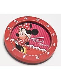 Disney Minnie Wanduhr aus Kunststoff in Geschenkpackung 25 cm 90011