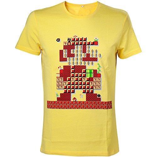 Preisvergleich Produktbild Nintendo T-Shirt -XS- Mario Maker, gelb