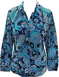 adonia mode Modische Flower Bluse Gr.40 - 56