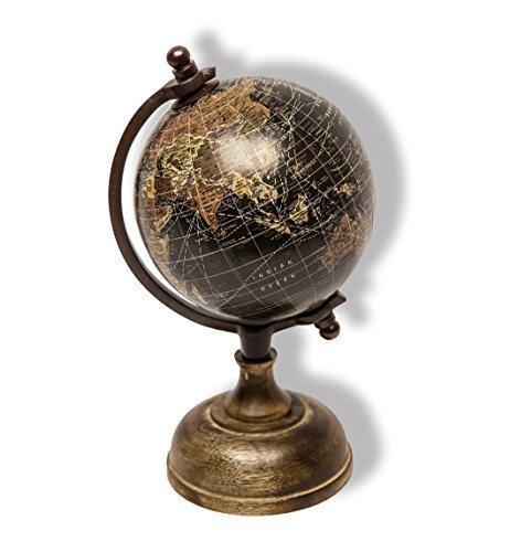 Globus Weltkugel Antik Stil Wandkarte Welt Weltkarte Vintage Historisch Erde
