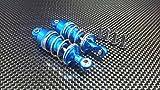 GPM Tamiya TT-02 Upgrade Parts Aluminium Front/Rear Adjustable Aluminium Ball Top 53mm Damper - 1Pr...