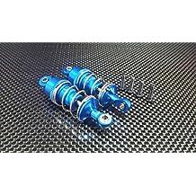 Tamiya TT-02 Upgrade Parts Aluminium Front/Rear Adjustable Aluminium Ball Top 53mm Damper - 1Pr Blue