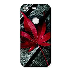 Neo World Red Leaf Back Case Cover for Google Pixel