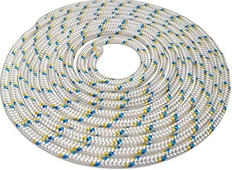 3.5mm Lawnmower engine pull cord strimmer start rope 100% nylon UV stabilised 2 Metres