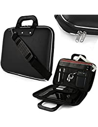 Sterling Cady Collection Polycarbonate 15.6-inch Durable Black Laptops Bag