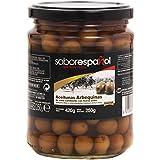Gourmet SaborEspañol - Aceitunas Arbequinas - de color cambiante con hueso extra - 250 g