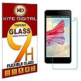 Best 4s Screen Protectors - KITE DIGITAL LYF Wind 4S Premium Tempered Glass Review