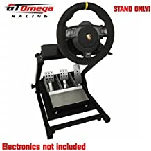GT Omega Steering Racing Wheel stand suitable for Fanatec GT2, GT3, CSR Wheel and Clubsport Pedals [Importación Inglesa]