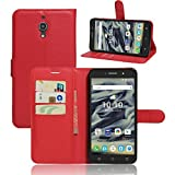 Alcatel Pixi 4 (5) 4G 5045X mobile phone case cover luxury PU lather magnetic book flip Wallet case for Alcatel Pixi 4 5