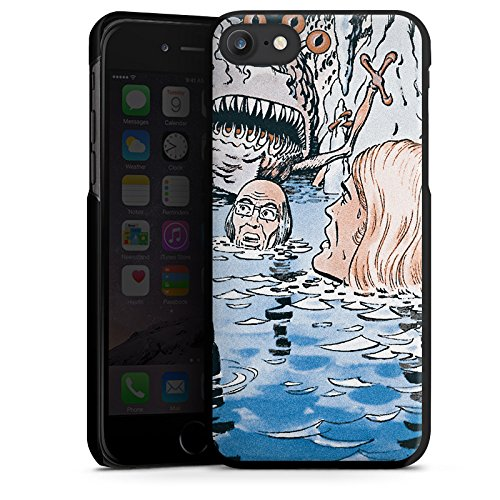Apple iPhone X Silikon Hülle Case Schutzhülle Jan Tenner Fanartikel Merchandise Retro Hard Case schwarz