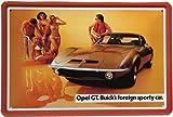 Blechschild Buick`s Opel GT USA Car Auto 20 x 30 cm Reklame Retro Blech 223