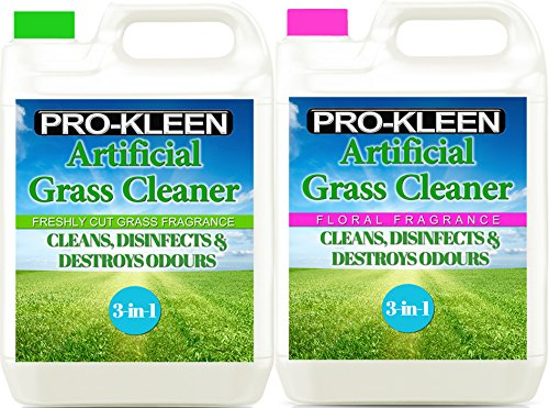 10l-of-pro-kleen-artificial-grass-cleaner-disinfectant-deodoriser-freshly-cut-grass-and-floral-fragr