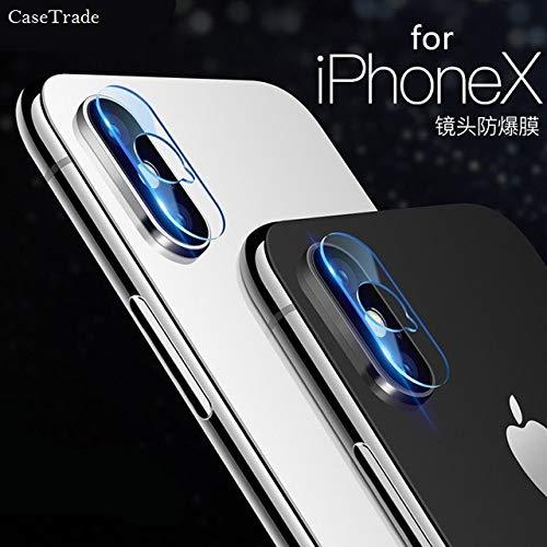 CaseTrade Camera Lens Screen Protector 9H Flexible Camera Glass for Apple iPhone Xs Max