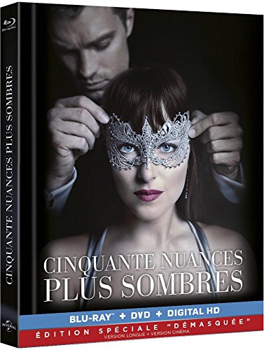 Cinquante Nuances Plus Sombres [Digipack combo BRD + DVD] [Édition spéciale - Version non censurée + version cinéma - Blu-ray + DVD + Digital HD]