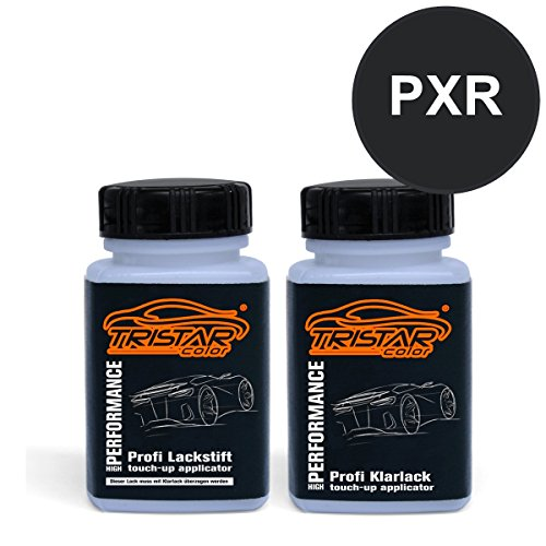 Preisvergleich Produktbild Lackstift Set FIAT / LANCIA PXR BRILLIANT BLACK M. / MIDNIGHT BLACK M. ab 2011 - Autolack & Klarlack - je 50 ml