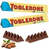 #1: Toblerone Crunchy Almonds 2 Packs of 100gms Swiss Chocolates, Free ChoocKick Eco Friendly Pen