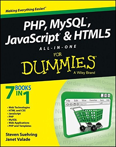 Php, MySQL, JavaScript & Html5 All-In-One for Dummies thumbnail