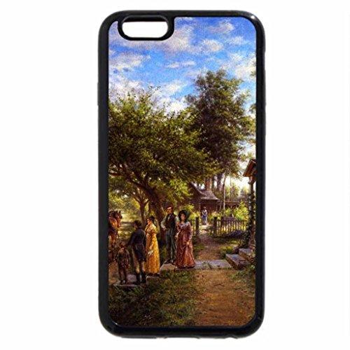 iPhone 6S / iPhone 6 Case (Black) Edward Lamson Henry [Americana Painter, 1841-1919]