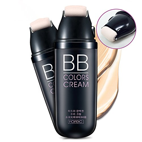 ROPALIA Scrolling Liquid Cushion BB Cream Flawless Moisturizer Face Foundation Concealer Cosmetics