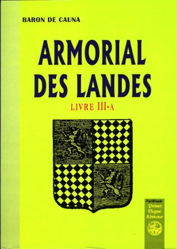 Armorial des Landes (Livre III-a)