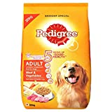 #7: Pedigree Adult Dog Food Meat & Vegetables, 20 kg Pack