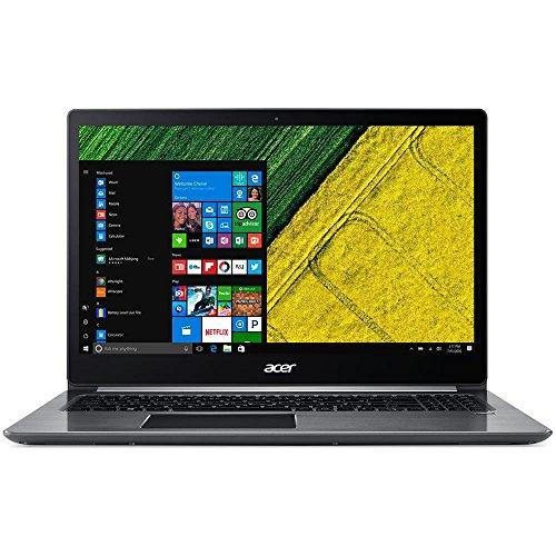 """Acer Notebook SF315 SWIFT NX.GQ5ET.013 15.6""""FHD IPS i3-7130U 8GB DDR4 128GB SSD W10"""