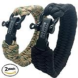 Goliath Paracorde Bracelet de Survie | Fabriqué avec Une Authentique corde...